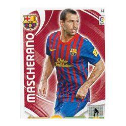 Mascherano Barcelona 44 Adrenalyn XL La Liga 2011-12