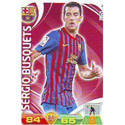 Sergio Busquets Barcelona 45 Adrenalyn XL La Liga 2011-12