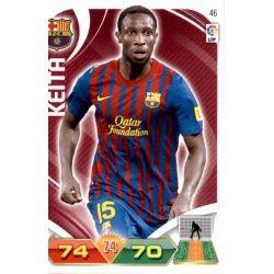 Keita Barcelona 46 Adrenalyn XL La Liga 2011-12