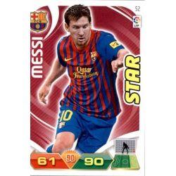 Messi Barcelona 52 Adrenalyn XL La Liga 2011-12