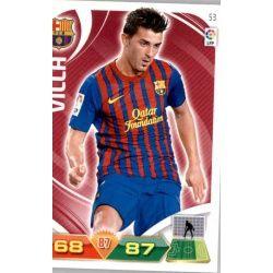 David Villa Barcelona 53 Adrenalyn XL La Liga 2011-12