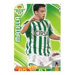 Matilla Betis 63 Adrenalyn XL La Liga 2011-12