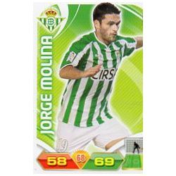 Jorge Molina Betis 69 Adrenalyn XL La Liga 2011-12