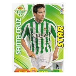 Santa Cruz Betis 71 Adrenalyn XL La Liga 2011-12