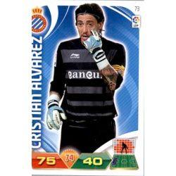 Cristian Álvarez Espanyol 73 Adrenalyn XL La Liga 2011-12