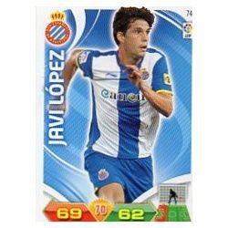 Javi López Espanyol 74 Adrenalyn XL La Liga 2011-12