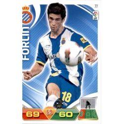 Forlín Espanyol 77 Adrenalyn XL La Liga 2011-12