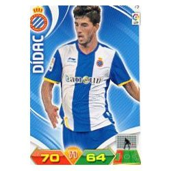 Dídac Espanyol 79 Adrenalyn XL La Liga 2011-12