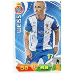 Weiss Espanyol 84 Adrenalyn XL La Liga 2011-12