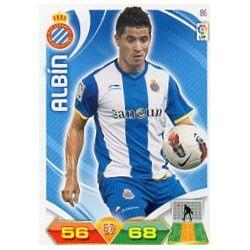 Albín Espanyol 86 Adrenalyn XL La Liga 2011-12