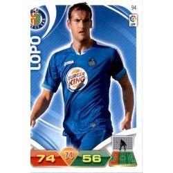 Lopo Getafe 94 Adrenalyn XL La Liga 2011-12