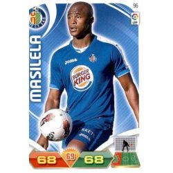 Masisela Getafe 96 Adrenalyn XL La Liga 2011-12