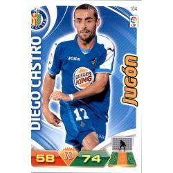 Diego Castro Getafe 104 Adrenalyn XL La Liga 2011-12