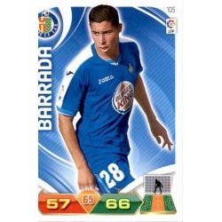 Barrada Getafe 105 Adrenalyn XL La Liga 2011-12