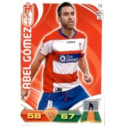 Abel Gómez Granada 118 Adrenalyn XL La Liga 2011-12
