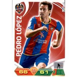 Pedro López Levante 129 Adrenalyn XL La Liga 2011-12