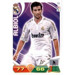 Albiol Real Madrid 150 Adrenalyn XL La Liga 2011-12