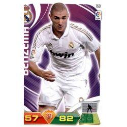 Benzema Real Madrid 160 Adrenalyn XL La Liga 2011-12