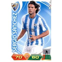 Sergio Sánchez Málaga 165 Adrenalyn XL La Liga 2011-12