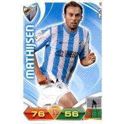 Mathijsen Málaga 167 Adrenalyn XL La Liga 2011-12