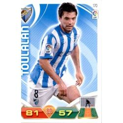 Toulalan Málaga 170 Adrenalyn XL La Liga 2011-12