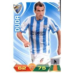 Duda Málaga 172 Adrenalyn XL La Liga 2011-12