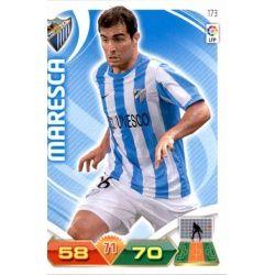 Maresca Málaga 173 Adrenalyn XL La Liga 2011-12