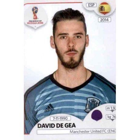 David de Gea España 134 España