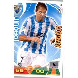 Joaquín Málaga 174 Adrenalyn XL La Liga 2011-12