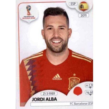Jordi Alba España 135 Spain