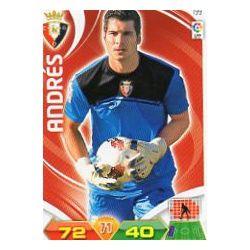 Andrés Osasuna 199 Adrenalyn XL La Liga 2011-12