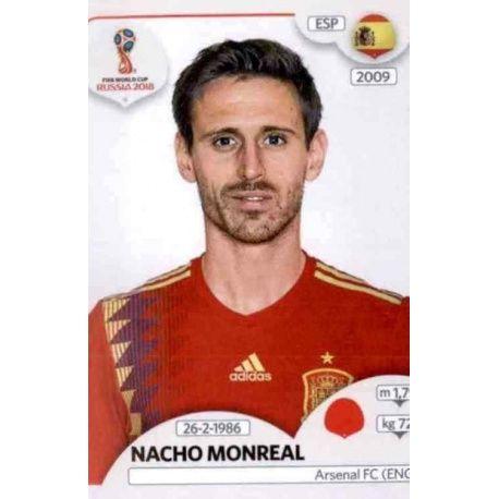 Nacho Monreal España 137 Spain