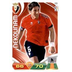 Nekounam Osasuna 209 Adrenalyn XL La Liga 2011-12