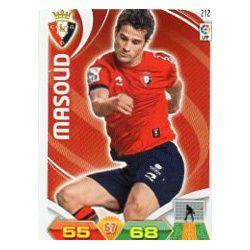 Masoud Osasuna 212 Adrenalyn XL La Liga 2011-12