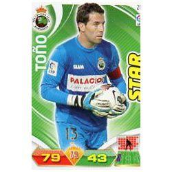 Toño Racing Santander 217 Adrenalyn XL La Liga 2011-12