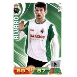 Álvaro Racing Santander 219 Adrenalyn XL La Liga 2011-12