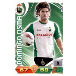 Domingo Cisma Racing Santander 222 Adrenalyn XL La Liga 2011-12