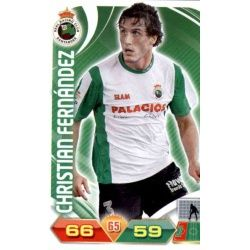 Christian Fernández Racing Santander 223 Adrenalyn XL La Liga 2011-12