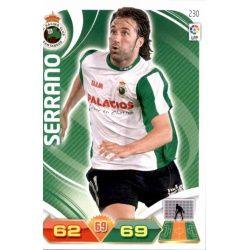 Serrano Racing Santander 230 Adrenalyn XL La Liga 2011-12