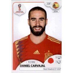 Daniel Carvajal España 140