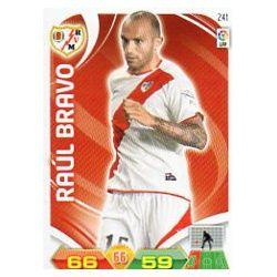 Raúl Bravo Rayo Vallecano 241 Adrenalyn XL La Liga 2011-12
