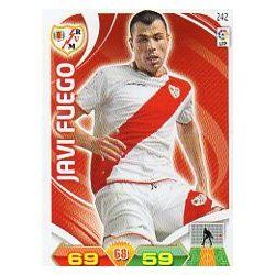 Javi Fuego Rayo Vallecano 242 Adrenalyn XL La Liga 2011-12