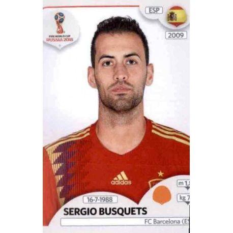 Sergio Busquets España 141 Spain