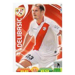 Delibasic Rayo Vallecano 252 Adrenalyn XL La Liga 2011-12