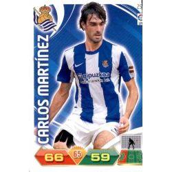Carlos Martínez Real Sociedad 254 Adrenalyn XL La Liga 2011-12