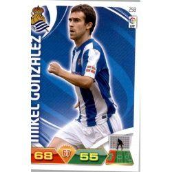 Mikel González Real Sociedad 258 Adrenalyn XL La Liga 2011-12