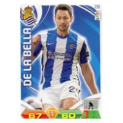 De la Bella Real Sociedad 259 Adrenalyn XL La Liga 2011-12