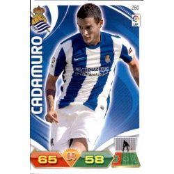 Cadamuro Real Sociedad 260 Adrenalyn XL La Liga 2011-12