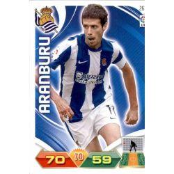 Aranburu Real Sociedad 263 Adrenalyn XL La Liga 2011-12