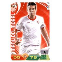 Manu del Moral Sevilla 285 Adrenalyn XL La Liga 2011-12